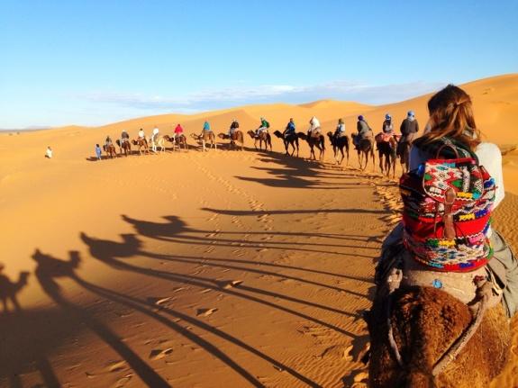 camel-trekking-in-morocco